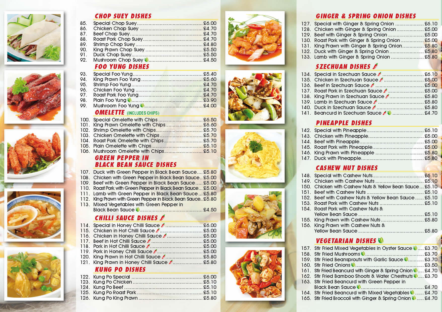 oriental garden blackdown close basingstoke rg22 5bw 01256 322 334 01256 358 446 - Oriental Garden Menu